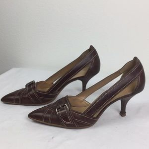 FRANCO Sarto Heels 8.5M with buckle